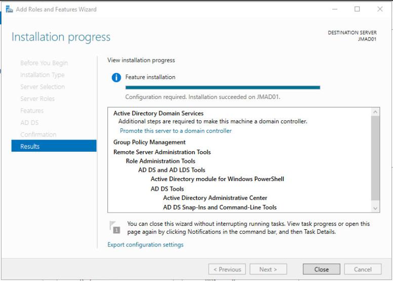 Installer active directory sous windows server 2016 ms technics - Installer console active directory windows 7 ...